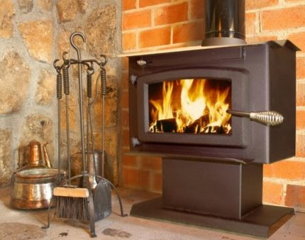 Models of wood stoves