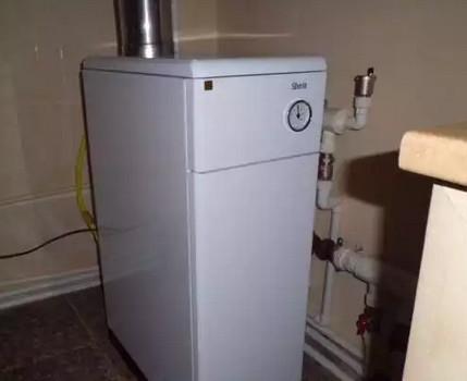 Chaudière domestique au gaz