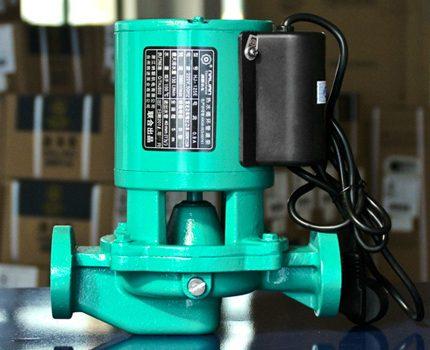 Cast iron heating pump