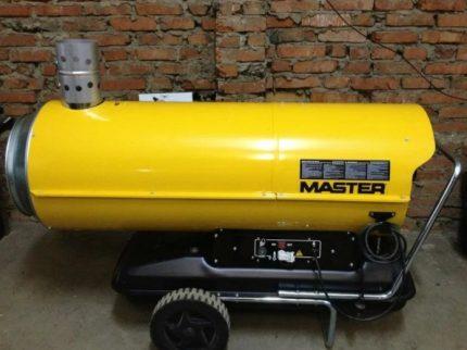 Direct heating diesel gun