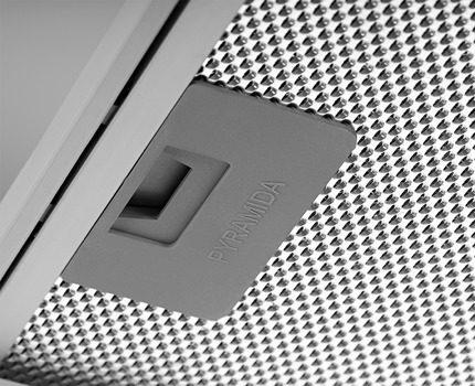 Alumīnija filtrs ar slēdzeni