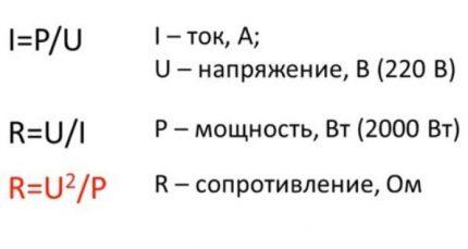 Resistance Formula