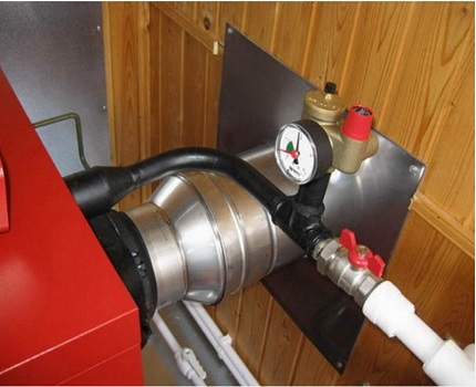 Security group in the heating system