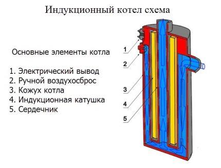 Induction boiler