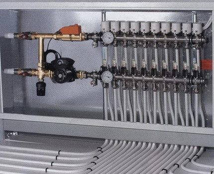 Heating manifold