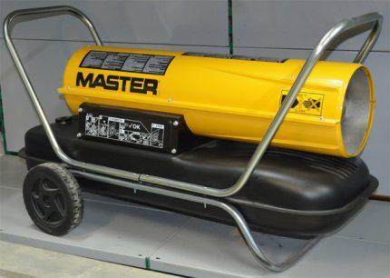 Thermal diesel gun Master