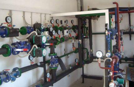 Household heat meter