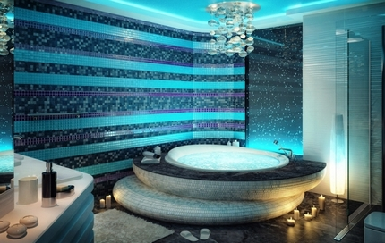 Lampe de bain autonome
