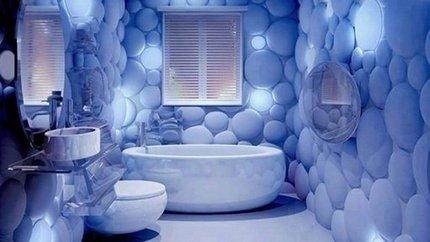 Éclairage personnalisé dans la salle de bain