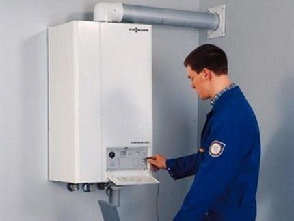 Service de chaudière à gaz