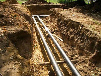 Problèmes de gazoduc souterrain