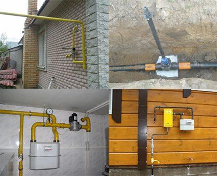Méthodes de raccordement d'un gazoduc
