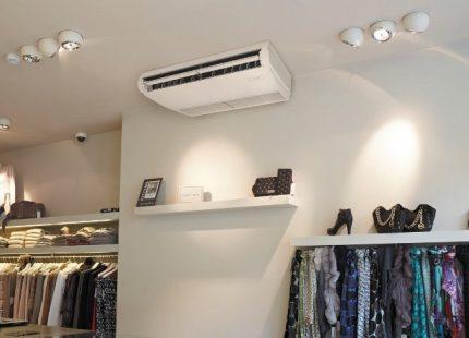 Climatisation au sol et au plafond Daikin