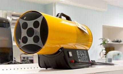 Heat gas gun