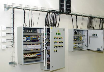 Electrical wall cabinets