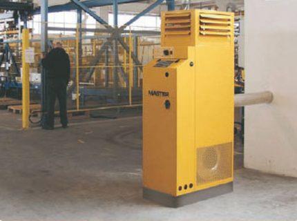 Diesel stationary heat gun