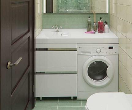 Une machine à laver pour une petite famille
