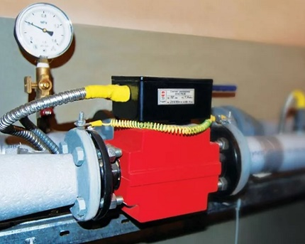 Tachometric heat meter
