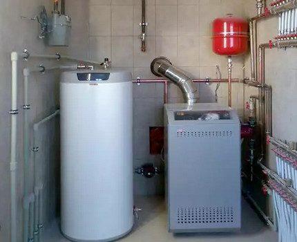 Accumulateur de chaleur dans le système de chauffage