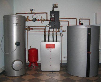L'accumulateur de chaleur connecté à la chaudière