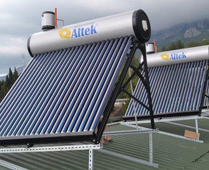 Capteur solaire et accumulateur de chaleur