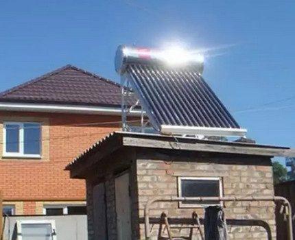 Capteur solaire de toit