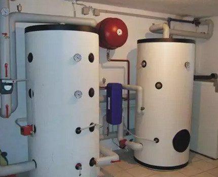Accumulateur de chaleur de grande capacité