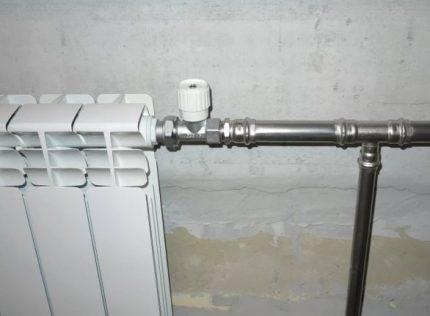 Radiator wiring