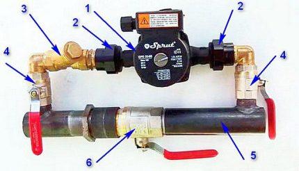 Bypass wiring diagram
