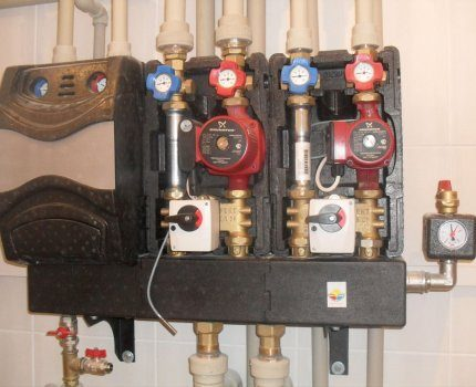 The required number of pumps