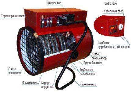 Electric gun device