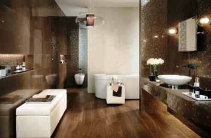 Éclairage de salle de bain Art déco