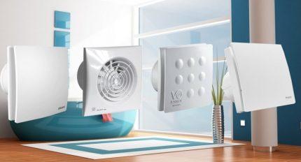 Automatic bathroom fans