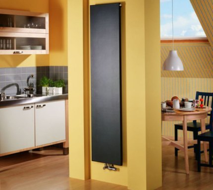 Paneļu vertikālie radiatori