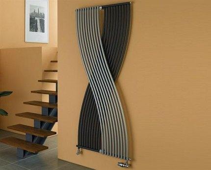 Cauruļveida vertikāls radiators