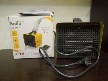 Features Ballu BKX5