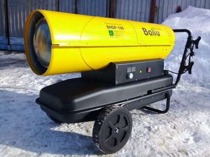 Ballu heat gun
