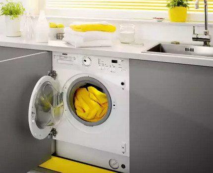 Built-in washing machine