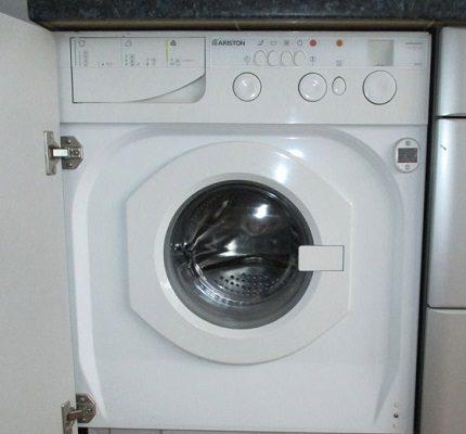 Built-in washing programs