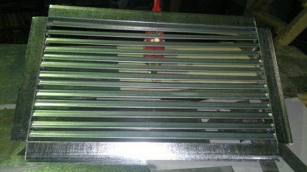 Aluminum trellised grease traps