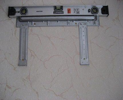 Bracket plate mounting