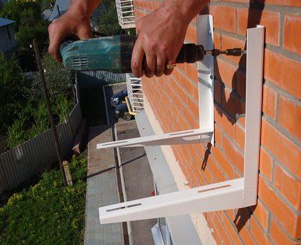 External block mount