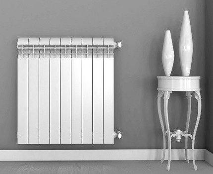 Bimetal heating radiators