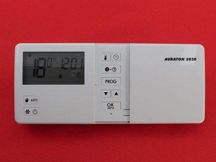 Capteur de température ambiante