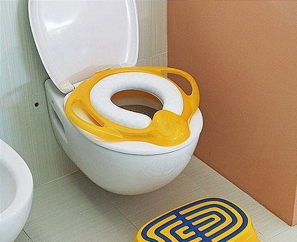 Children's toilet cover