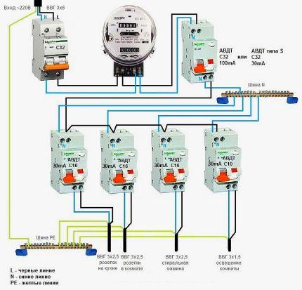 Divlīmeņu difatomāta savienojuma sistēma