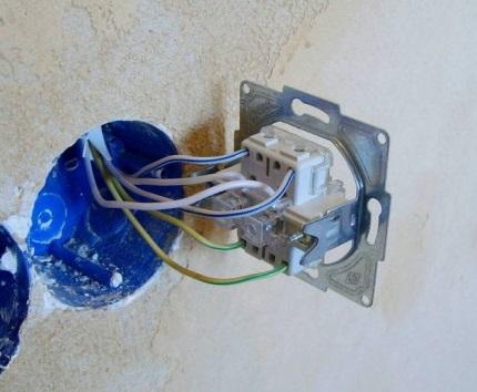Installation de DPA dans le socket