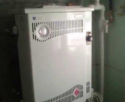 Parapet type boiler