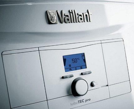 Vaillant dual circuit gas appliance