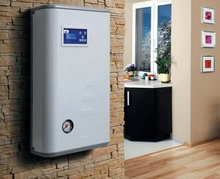 Electric heating boiler